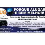Alug-Equipamentos para Eventos