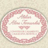 Atelier Aline Fernandes - Caligrafia E Convites