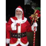 Papai Noel Com Treno Iluminado Com Musica Natalina
