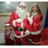 Papai Noel,Mamae Noel e Doende