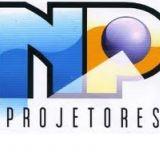 NPprojetores painel de led