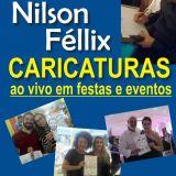 Nilson Fellix Caricaturas ao Vivo em Eventos