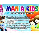 Mania Kids - Locação de brinquedos