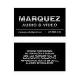 Marquez Áudio e Vídeo