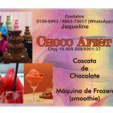 Choco Afest,cascata de chocolate e Frozen.