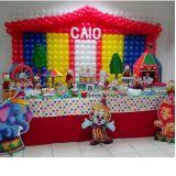 Monkey Festas - Decoração balões e doces pasta