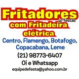Fritadeira para Festas Glória, Flamengo, Botafogo