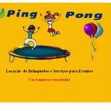 Ping &pong locação de brinqudos.