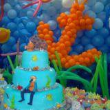 Show de bolas decoração com balões