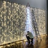 Cortina de led com 10000 leds