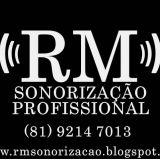 Rm Sonorização Profissional Desde 1995