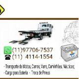 Guincho Zona Sul SP Carga para Bateria
