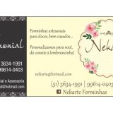 Néka Cerimonial e Nekarte forminhas para doces