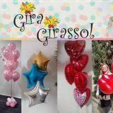 Gira Girassol Animação Com Balão