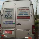 Locação de Vans