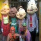 Recreador Tio Feliciano e a boneca Felicia