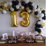 Decoração com Balões e malhas para festas em geral