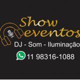 DJ Som Iluminação Telão Retro Tapete Xadrez