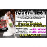 Fotolivro 50x20 e Filmagem em Full Hd