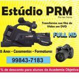 Estudio Prm Filmagens - fotos e gravacoes de audio