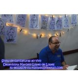 Caricatura em festas de Marcelo Lopes de Lopes