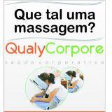 Promoção De Quick Massage Para Empresas E Eventos