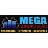 Mega Sonorização - Som, Iluminação, Estruturas de