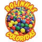 Bolinhas Coloridas -Locação de brinquedos/barracas
