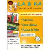 LA & KA Aluguel de brinquedos Mayara e Thiago