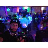 Som iluminação DJ para festas e eventos