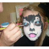 Curso pintura facial e camarim de pintura