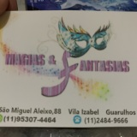 Magias E Fantasias(aluguel e venda de fantasias)