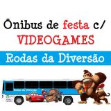 Rodas da Diversão - Ônibus c/ GAMES p/ festas
