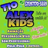 Animação tio Alex Kids