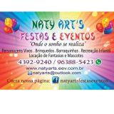 Naty Art´s Festas e Eventos
