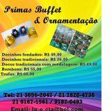 Primas Buffet & Ornamentação