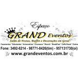 Grand Eventos Salão De Festas, Buffet E Decoração