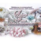 Balas de coco caseiras - Sabores Festas