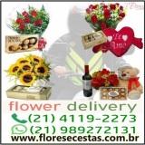 Entrega de flores em Niterói