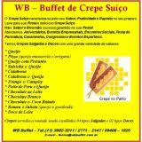 wb Buffet - Crepe Suiço
