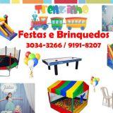 Trenzinho Festas e Locação de Brinquedos