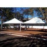 Status Eventos cobertura em tenda piramidal