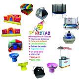 Os brinquedos mais locados do mercado de eventos e