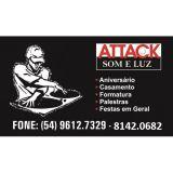 Attack Som,Luz e imagem