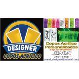 designer copos acrilicos personalizado