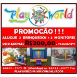 Play World - Aluguel de Brinquedos