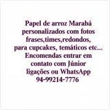 Papel de Arroz Marabá-nanda Artesanatos