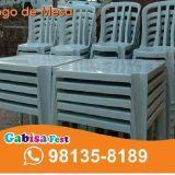 Mesas e Cadeiras Bauru
