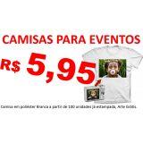 Camisas Personalizadas para Eventos em geral