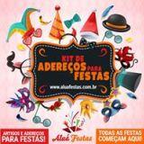 Aluá Festas Kit Festa é Aqui! em 12x Frete Grátis